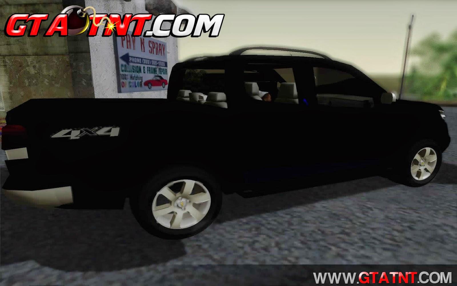 Chevrolet S10 LTZ 2014 para GTA San Andreas