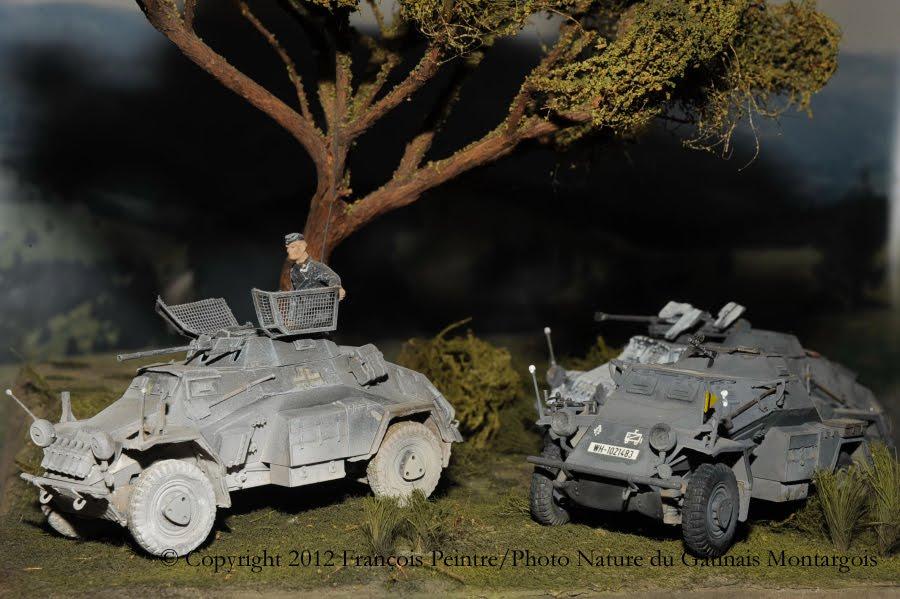 Sd Kfz 221 et Sd Kfz 222