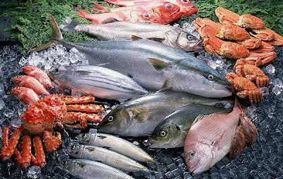 El pescado en la cocina