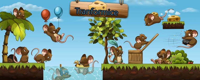 Tranformice! >> ¡Ratas a monton!