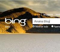 Imagem: Print Screen do buscador Bing