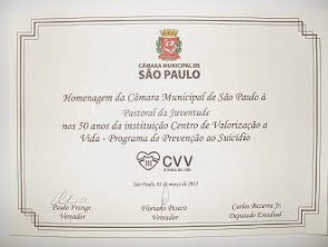 HOMENAGEM NA CAMARA MUNICIPAL DE SÃO PAULO - SP