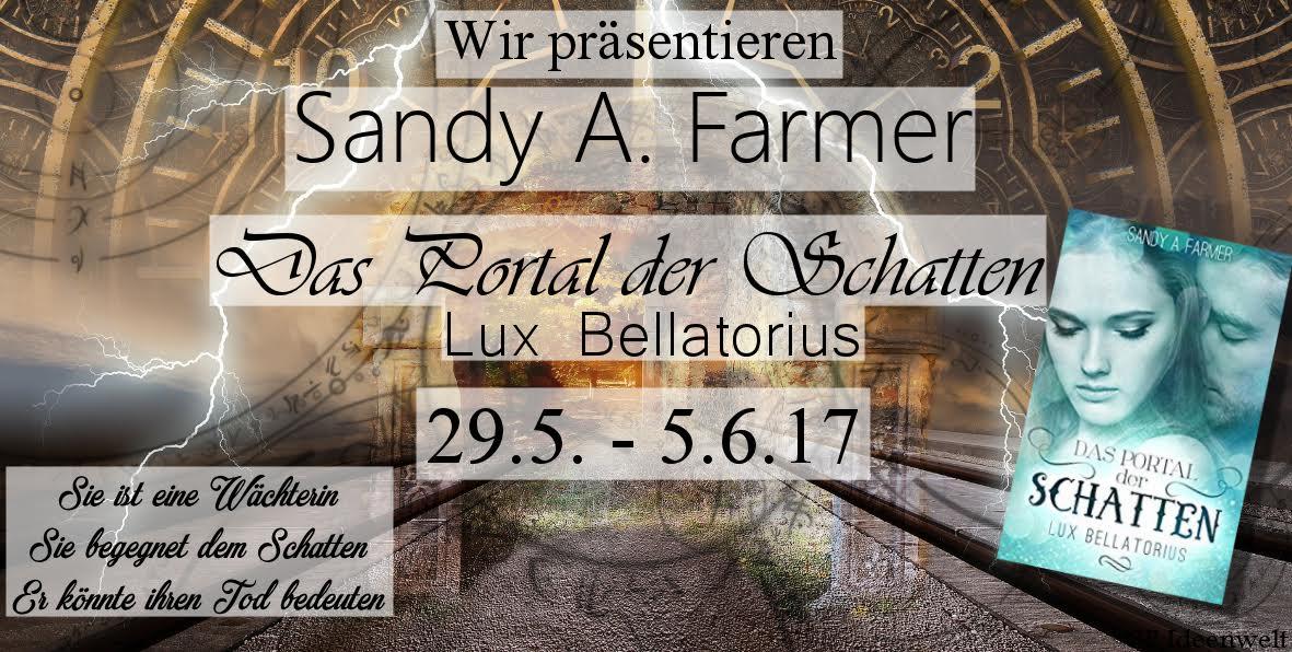 Blogtour - Das Portal der Schatten: Lux Bellatorius (29.05. - 05.06.2017)