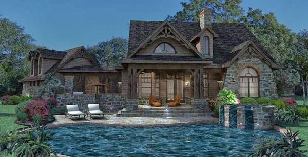 Fotos de piscinas piscinas en casas de campo for Fotos casas de campo con piscina