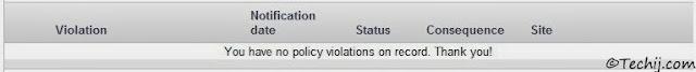 AdSense Policy Violation