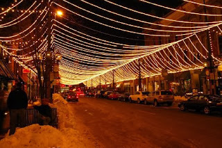 Larimer Street, Denver, Colorado, holiday