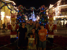 Christmas at the Magic Kingdom