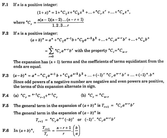 SVC MATH 3U BLOGAROONY FACT SHEET BINOMIAL THEOREM – Binomial Theorem Worksheet