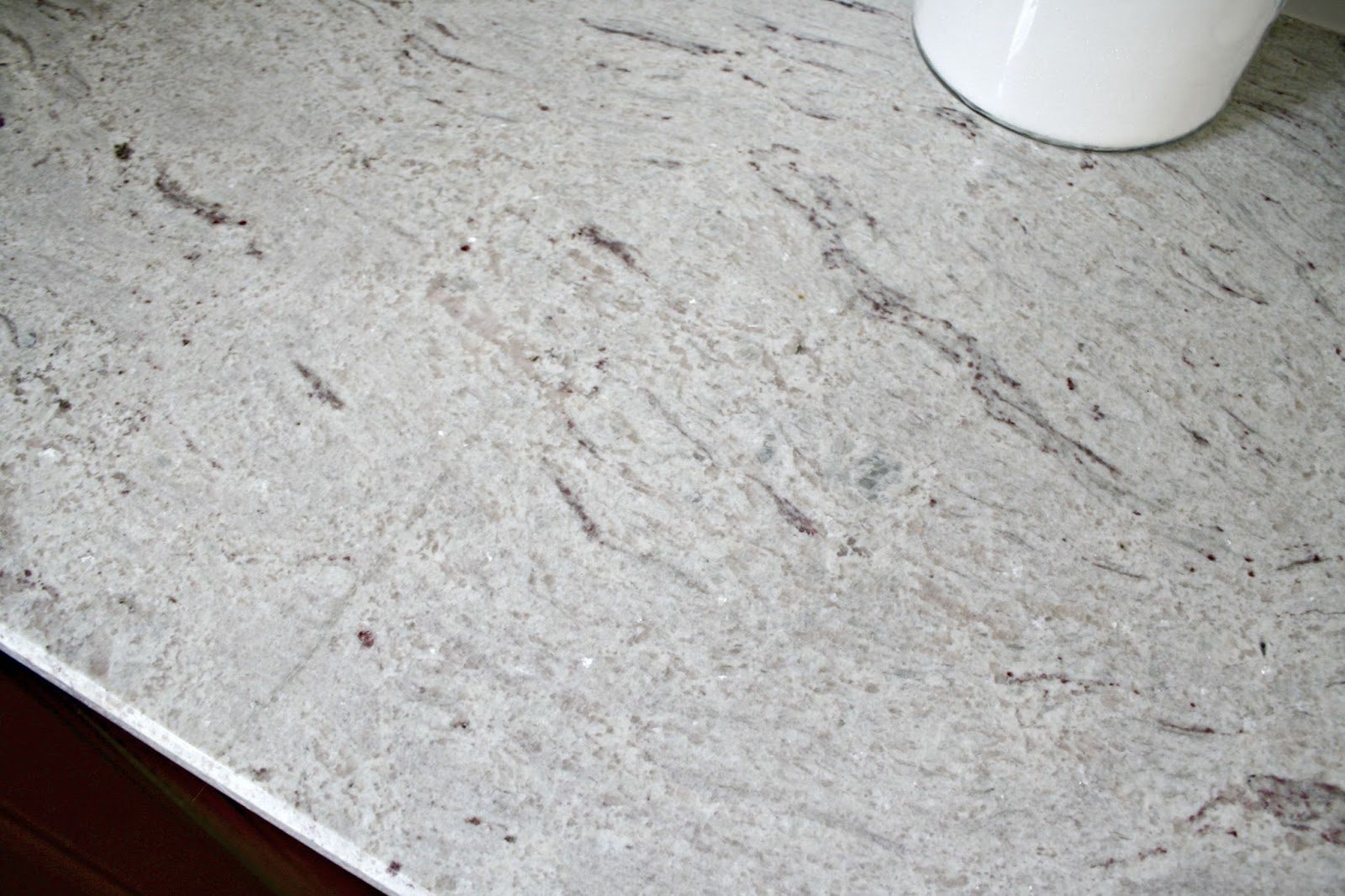 our beautiful river white granite countertops from thrifty decor chick. Black Bedroom Furniture Sets. Home Design Ideas