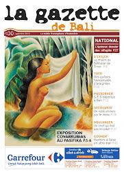 La Gazette de Bali septembre 2013