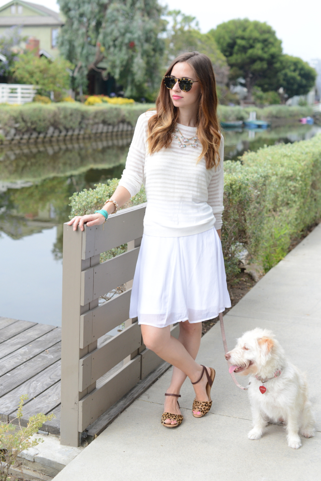 monochromatic outfit via M Loves M