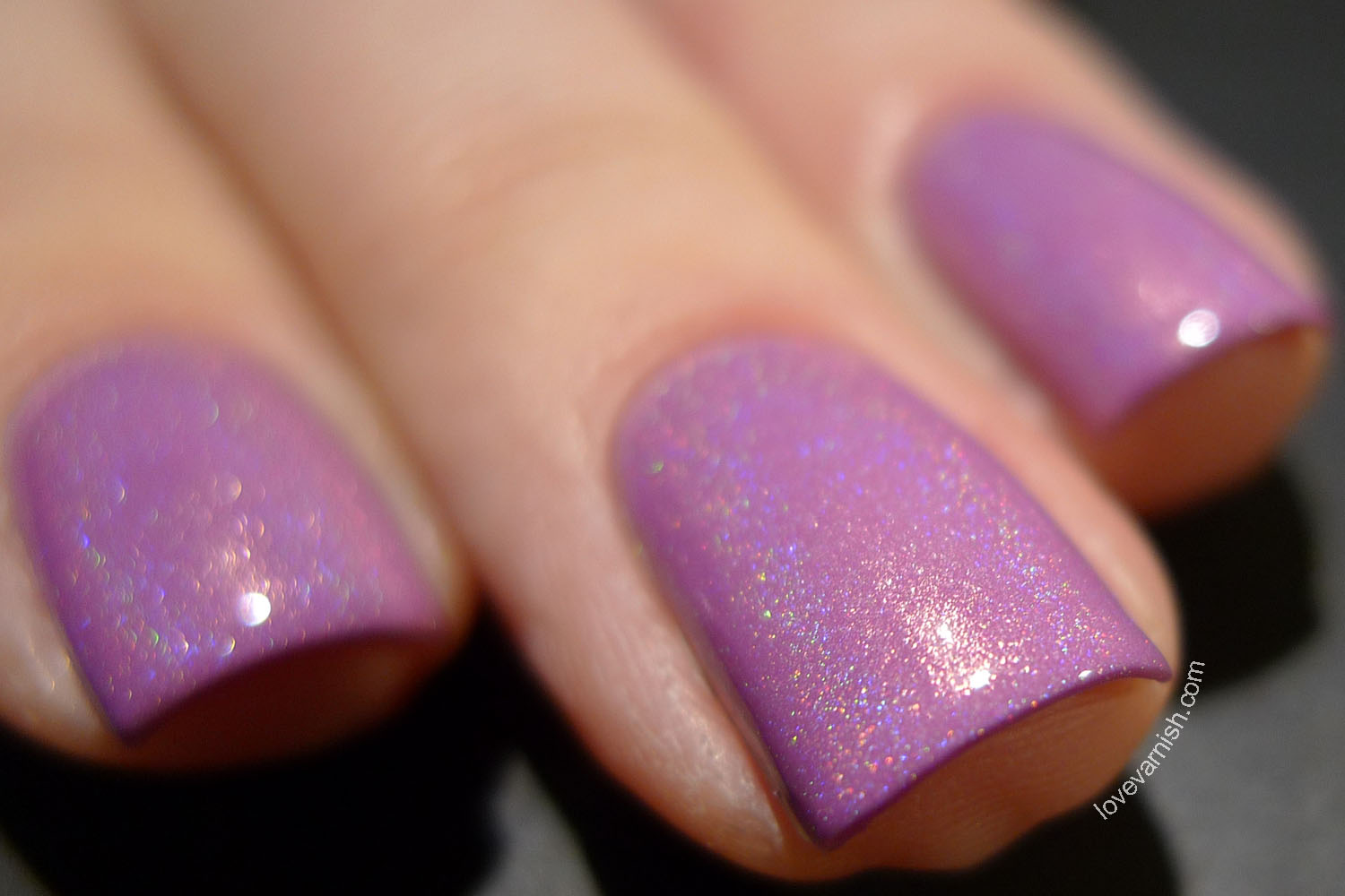 Too Fancy Lacquer Orchid of 2014 orchid holographic