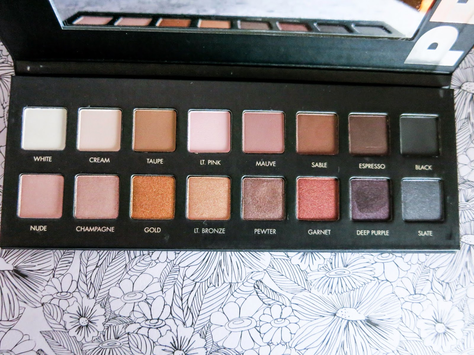 lorac pro palette eyeshadow review swatches