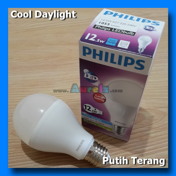 lampu led philips 12.5 watt cool daylight