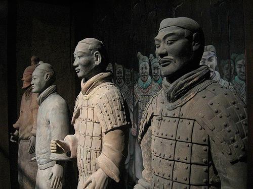 The Mausoleum of Qin Shi Huangdi