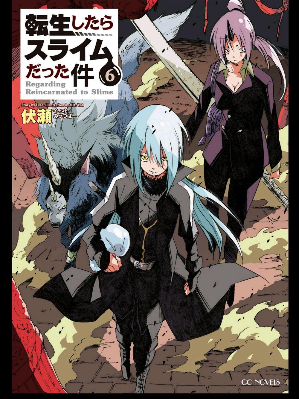 Guro Translation Tensei Shitara Slime Datta Ken Volume 6 Illustrations