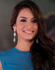 Queeneerich Rehman is Miss World Philippines 2012