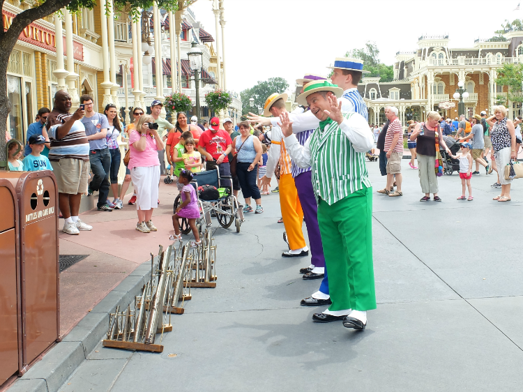 Walt Disney World Resort, Magic Kingdom, Main Street USA