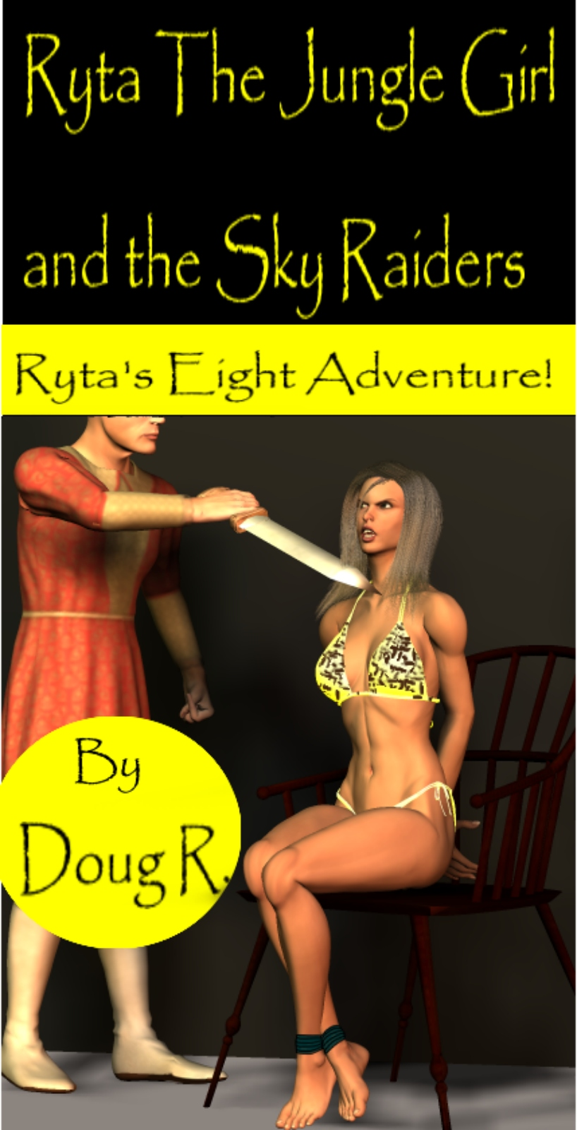 Ryta the Jungle Girl and the Sky Raiders