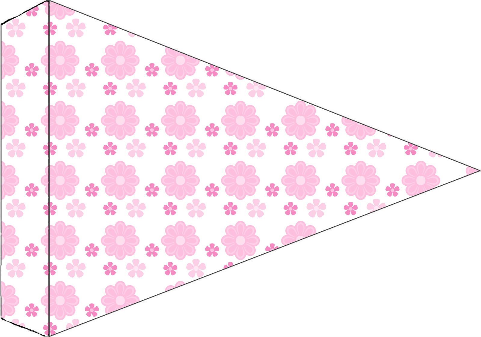 kit personalizado flor rosa