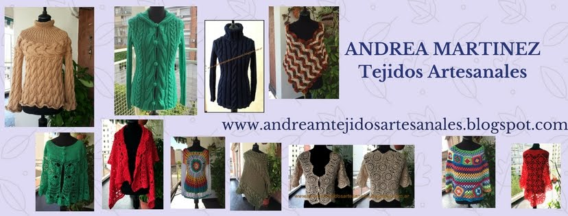 ANDREA MARTINEZ  Tejidos Artesanales