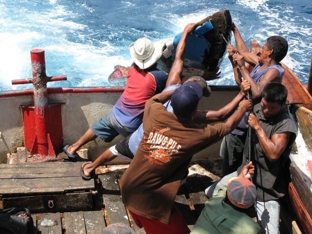 nicaragua lobster fishermen