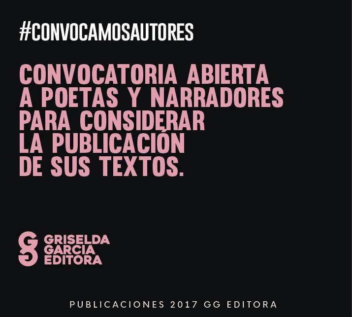 Convocatoria a POETAS/NARRADORES