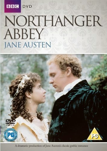 DVD cover: Northanger Abbey 1987