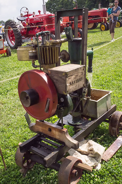 Old Farm Equipment at the Kutztown Folk Festival