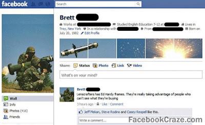 Funny Facebook Profile
