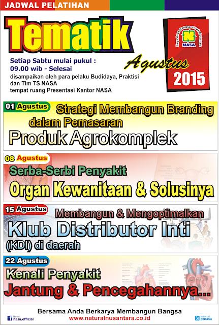 http://www.stockistnasajogja.com/2015/08/jadwal-pelatihan-tematik-agustus-2015.html