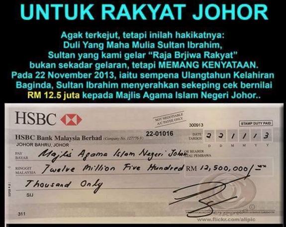 Sultan Johor Beli Trak Mahal Tapi Baginda Keluarkan Zakat 10 Kali Ganda Dari Harga Trak