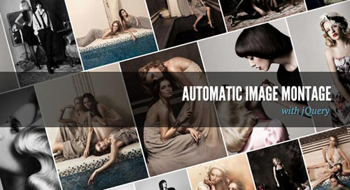 Automatic Image Montage using JQuery