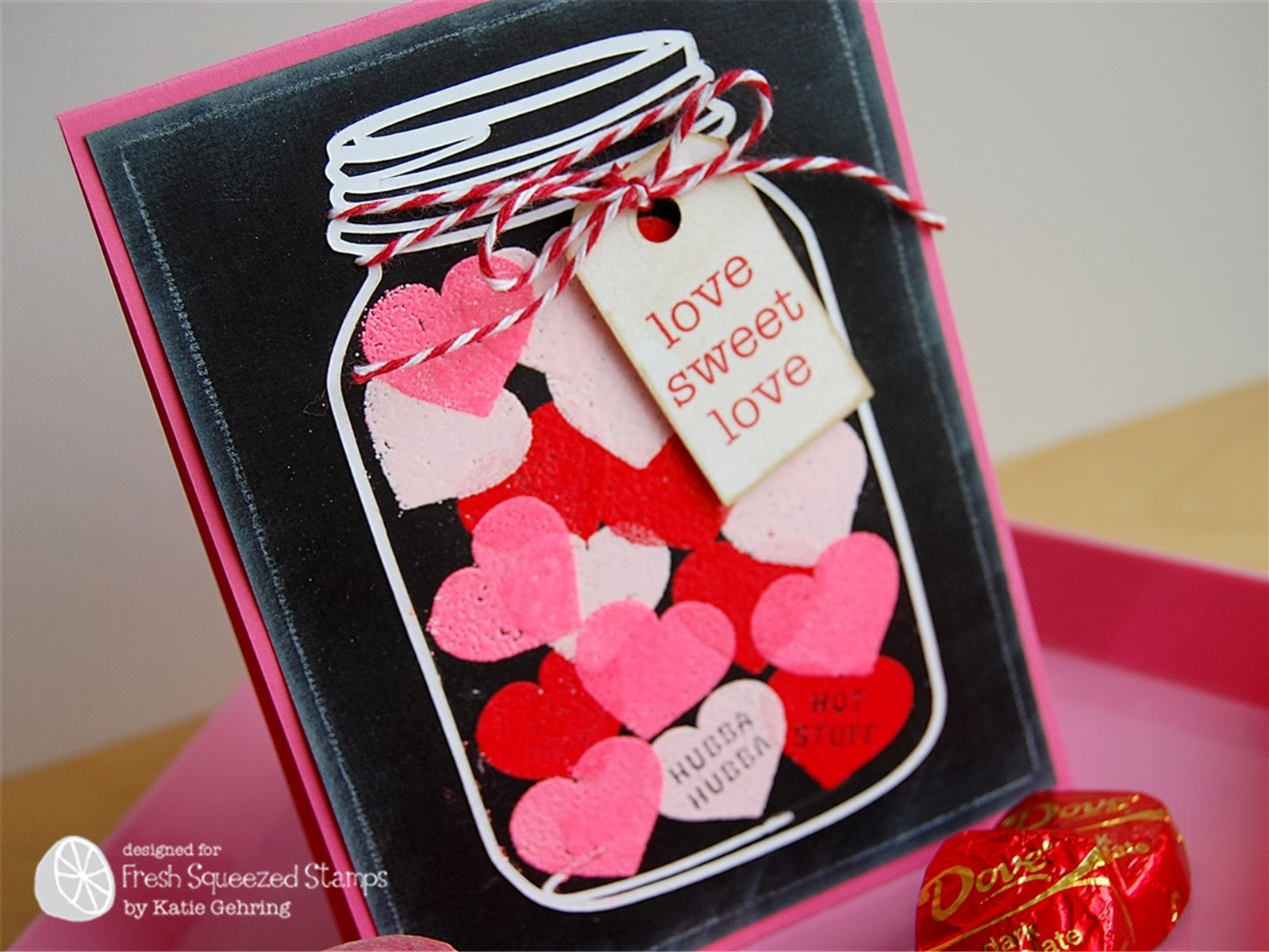Fresh Squeezed Stamps: A Jar of Hearts