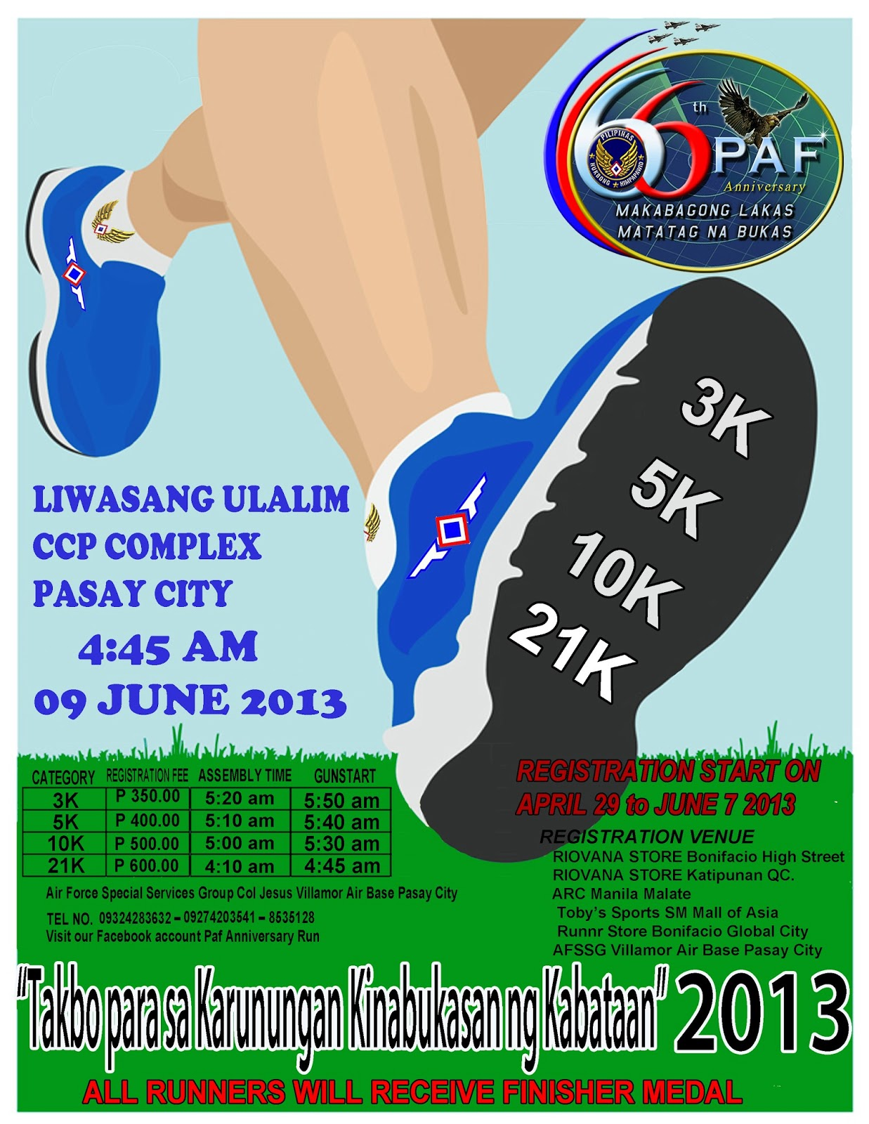 5k Run Flyer Template. Jet Paiso Paf Run 9 Jun 2013 Ccp Complex Pasay City .  Fun Poster Templates