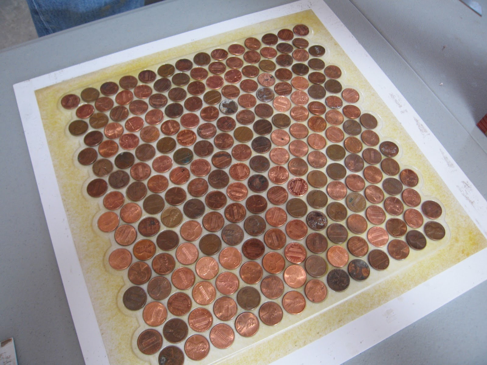Alpentile Glass Tile Swimming Pools Have You Considered Copper - Copper penny floor grout