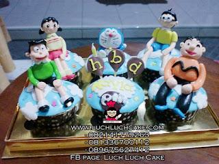 Cupcake Doraemon and Friends Daerah Surabaya - Sidoarjo