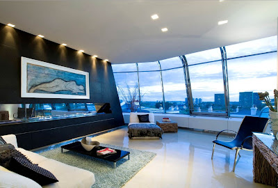 Awesome Luxury London Penthouse Designs