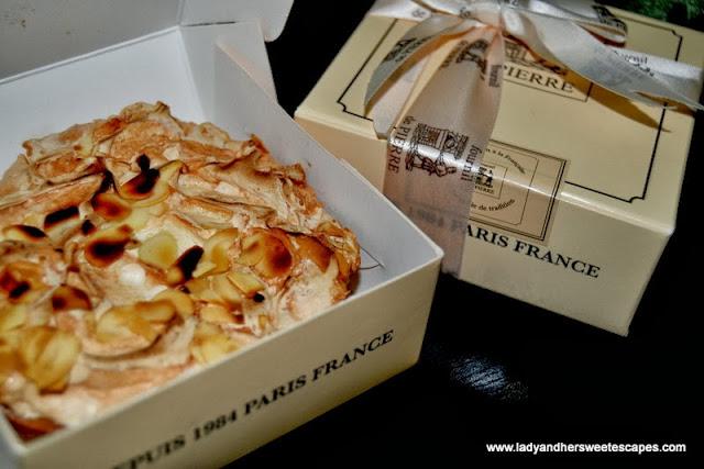 Fournil De Pierre's tartelette citron