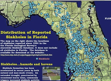Florida Sink Hole Map.Essays Stars Of Tamoanchan Florida Sinkhole Maps As An Aside