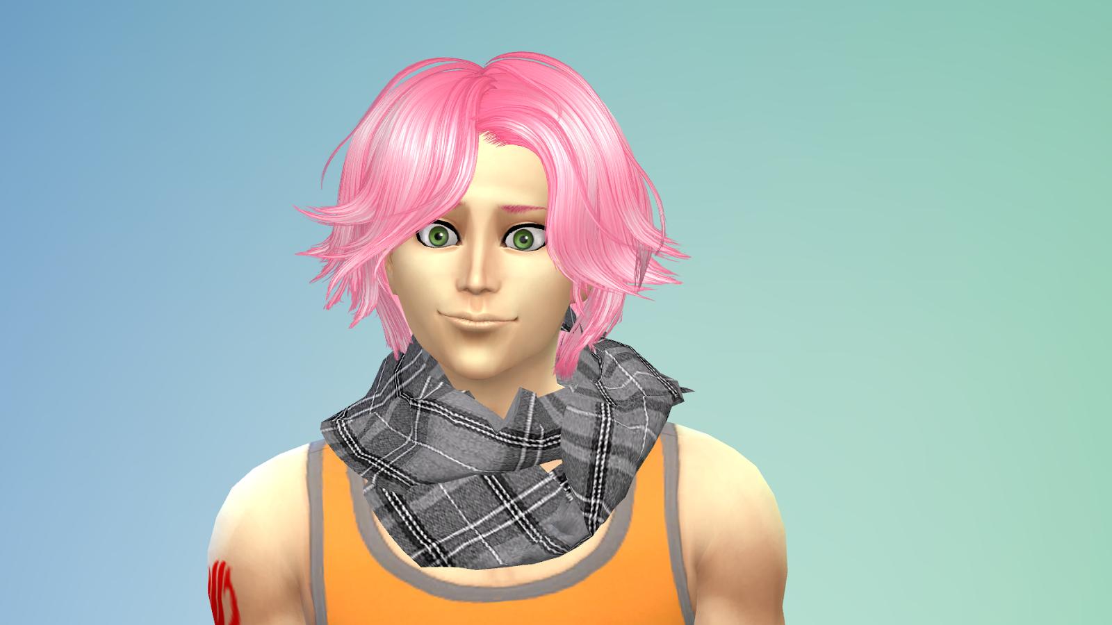 Sims 4 Anime Characters : Ng sims natsu lucy ts model