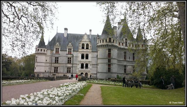 Château d'Azay Le Rideau renaissance Francois Ier, Azay le Rideau chateau Pays de la Loire Touraine Balzac