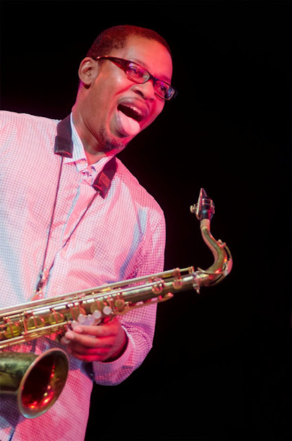 Ravi Coltrane - Festival de Jazz de Getxo - Plaza de Biotz Alai (Getxo) - 3/7/2014