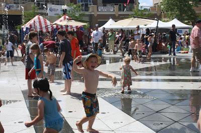 Gateway Utah Splash Pad