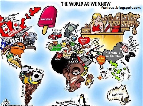 World as we know it literally