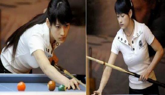 Pan Xiaoting Pemain Biliar Paling Cantik Dan seksi