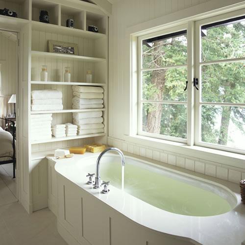 Kitchen home design modernos ba os con closet for Banos modernos con walking closet