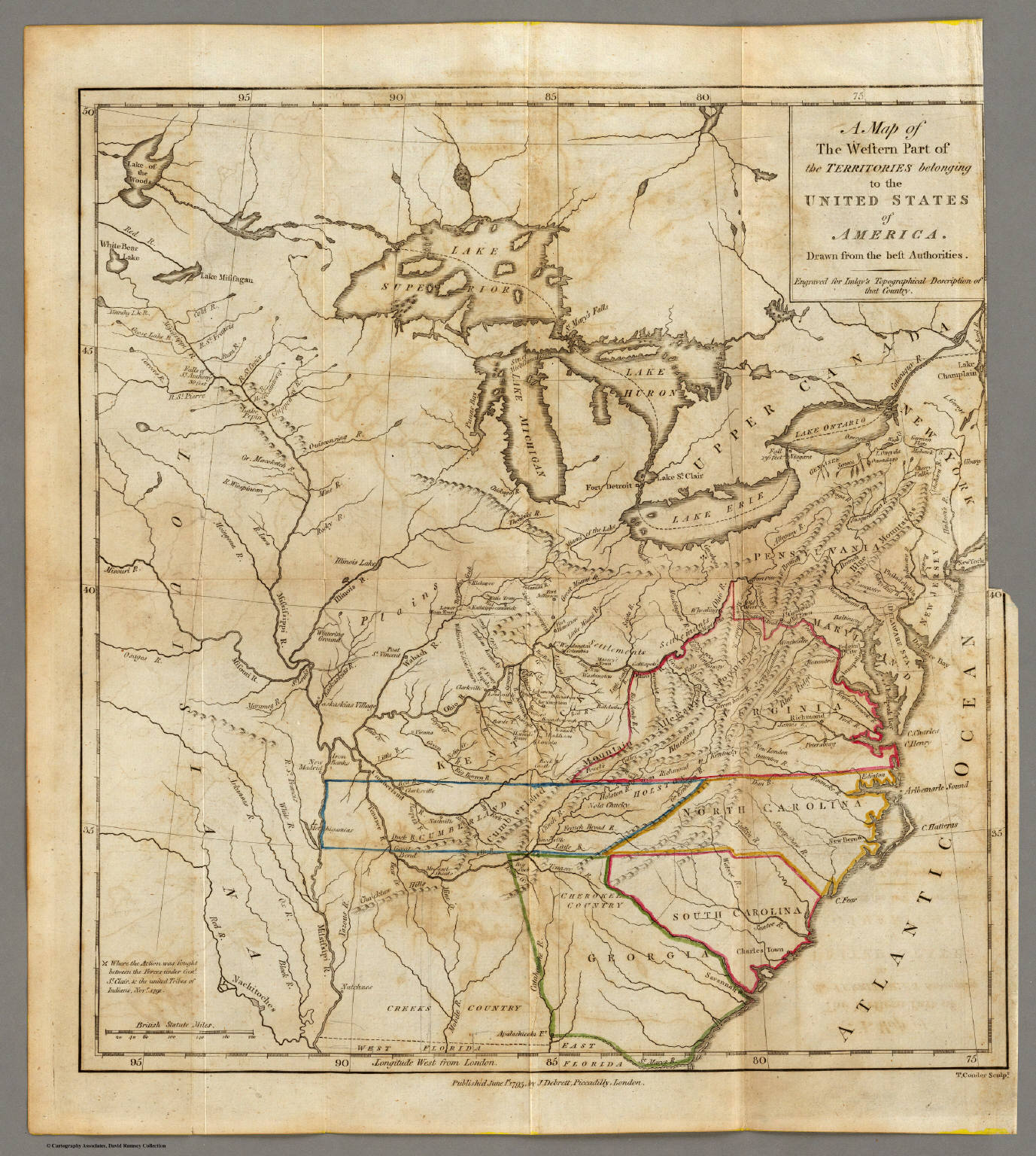 US Westward Expansion Through Maps Brown University Before Lewis - Map of us states in 1800s