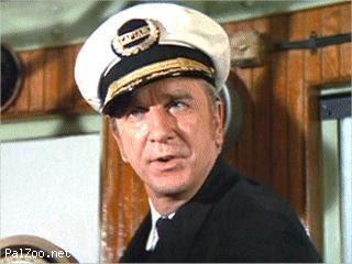 Leslie Nielsen as the captain of The Poseidon Adventure
