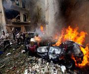 Syrian Civil War Left Umayyad Mosque Fired
